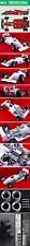 HIRO 1/12 FERRARI F187/88C 1988 BRITISH GP #27 ALBORETO #28 BERGER