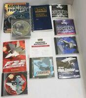 Jane's Anthology- Original PC Flight Simulators- Fighters, Bombers, Combat Lot