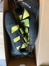 No Reserve! Evolv Pontas yellow Rock Climbing Shoes Us men's 7 women 8.5 Eu 40
