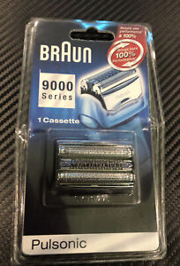 Braun 9000 Pulsonic Replacement Pack-Stainless Steel Outer Foil-Cutter (series 7