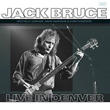 JACK BRUCE - LIVE IN DENVER (Netherlands)  VINYL LP NEW