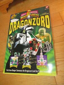 Mighty Morphin Power Rangers Dragonzord with Green Ranger Bandai 1993 MMPR