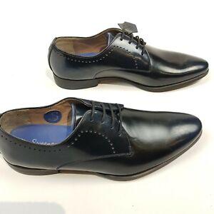 Oliver Sweeney Mens Bramford lace Up Shoes US8 1/4 EU41 1/4 Black Derby