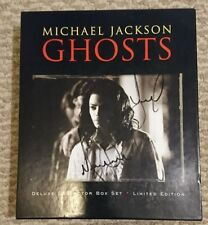 Michael Jackson AUTOGRAPH Ghosts Box Set Japan Edn @ NEVERLAND 3/28/05 see pics
