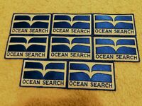 Lot of 8 Ocean Search Patch - Challenger Sea Operations Space
