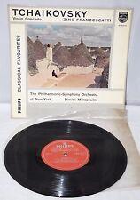 "10"" Vinyl - Tchaikovsky, Violin Concerto - Zino Francescatti - Philips GBR6512"