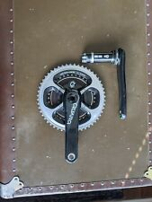 Quarq DFour BB30 power meter with Dura Ace chain rings