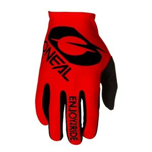 Oneal 2021 Matrix Gloves - Stacked Red 0391-3