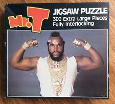 Vintage 1984 Mr T 300 Large Pieces 300 Piece Jigsaw Puzzle - By Golden #4782