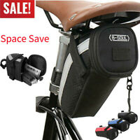 Bike Saddle Bag Bicycle Under Seat Storage Tail Pouch Cycling Bags Reflective