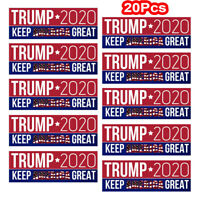 20Pcs Donald Trump Keep America Great Car Bumper Stickers President 2020 Hot! hi