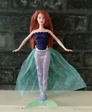 Mattel Barbie Princess Collection Mermaid Princess 2002 HTF Original Tail No Top