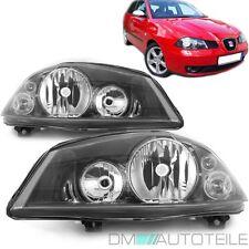 Seat Ibiza 6L Cordoba 6L2 Scheinwerfer SET Schwarz 02-08 H7/H3 für VALEO SYSTEM