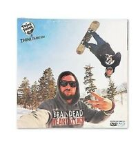 NEW & SEALED THINK TANK IS BRAINDEAD AND HAVING A HEART ATTACK SNOWBOARD DVD