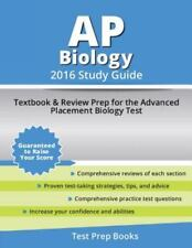 AP Biology 2016 Study Guide: Textbook and Review Prep for the Advanced Placement
