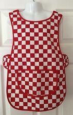 Wholesale Job Lot 10 Brand New Kids Childrens Tabards Aprons Red White Craft