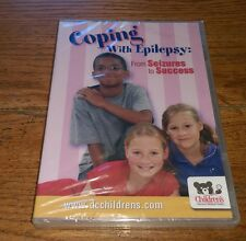 COPING WITH EPILEPSY From Seizures To Success Children's Medical Center DVD NEW