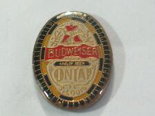 Vintage Budweiser On Tap Beer Pin *
