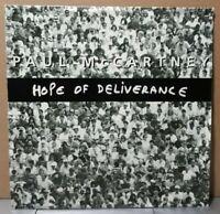 "Rare SP MINT ! Paul Mc Cartney ""hope of deliverance"" single7"" Europe 88 0438 7"