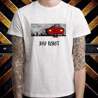 Bad Robot Famous Production Logo Men's White T-Shirt Size S to 3XL