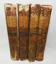 ** RARE : EMILE OU DE L'EDUCATION - 1762 - ANNEE DE L'EDITION ORIGINALE : 4 VOL.