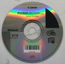 Canon Pixma MG5500 series Setup CD-ROM