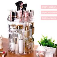1 x Acrylique Présentoir Rangement Cosmétique Maquillage Organisateur Boîte