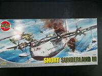 Short Sunderland III (Bausatz1972), Airfix, Scale:1/72, Kit: 06001, Selten!