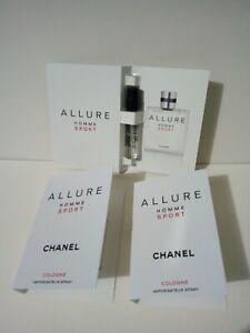 Chanel HALLURE HOMME SPORT (lotto) 3 x 2ml campione spray sample EDC