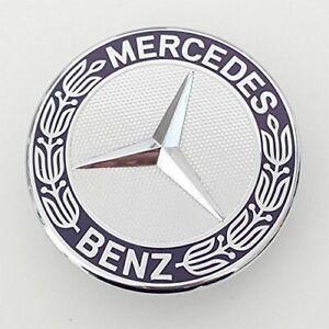 For Mercedes Benz Standing Star Conversion to Flat Mount Hood Emblem Car Badge