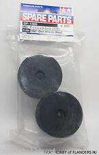 New Tamiya Part # 51305 DB-01 TRF 501 X REAR Dish Wheels in Black # 1305