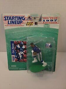 1997 Chris Warren Seattle Seahawks Starting Lineup NEW Figurine & Football Card