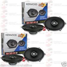 "4 x KENWOOD KFC-C5795PS 5"" x 7"" 3-WAY CAR AUDIO COAXIAL SPEAKERS"