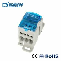 UKK80A Din Rail Terminal Blocks One in several out Power Distribution Block Box