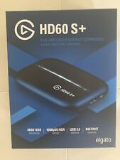 New Elgato HD60 S+ Game Capture In Hand