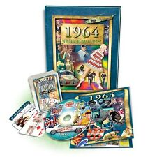 Great Birthday Gift Set: 1964 Flickback Book, DVD & Trivia Playing Cards