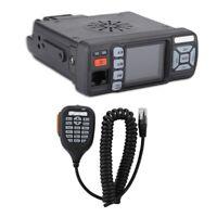 VHF/UHF Dual Band Mini Mobile Car Transceiver FM Radio Walkie Talkie 400-470MHz