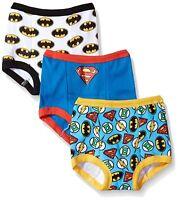 DC Comics Toddler Boys' Justice League 3 Pack Training Pant