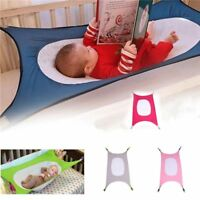 Safety Baby Hammock Infant Bed Elastic Detachable Kid Crib Portable Sleeping Bed