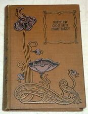 """1900 VINTAGE MOTHER GOOSE FAIRY TALES """"BY MY UNCLE SOLOMON"""" ILLUSTRATED ANTIQUE"""