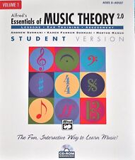 ALFRED'S ESSENTIALS OF MUSIC THEORY 2.0-VOLUME 1:CD-ROM WINDOWS/MAC NEW ON SALE!