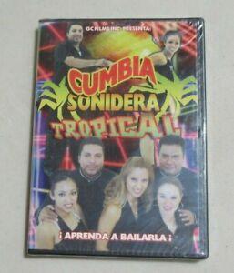 CUMBIA SONIDERA TROPICAL APRENDA A BAILARLA DVD NEW SEALED