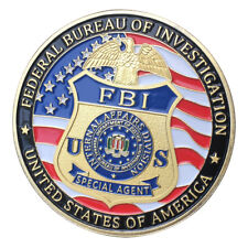 Federal Bureau of Investigation FBI GP Challenge coin 1406#