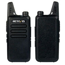 2pcs Walkie Talkies Retevis RT22 2W UHF 16CH TOT VOX Scan Squelch 2-Way FM Radio