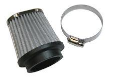 Universal Snowmobile Synthetic Fiber Carb Air Filter 40-44mm Carburetors 71mm Id