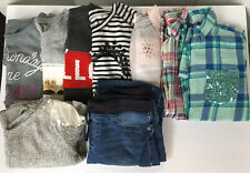 Girls Size 16 Fall Winter Clothes Lot / Dress Tops Jeans  Nine Pieces Total