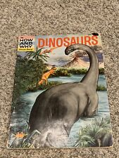 VINTAGE - The How and Why Wonder Book of Dinosaurs (Paperbacks, 1960)