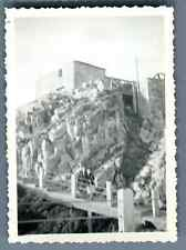 France, Chamonix, Sommet du  Brévent  Vintage silver print.  Tirage argentique