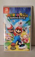 Mario + Rabbids Kingdom Battle (Nintendo Switch) Brand New!!! Factory Sealed!!!
