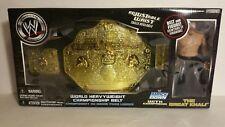 WWE SMACK DOWN WORLD HEAVY WEIGHT CHAMPIONSHIP BELT W/THE GREAT KHALI(092)